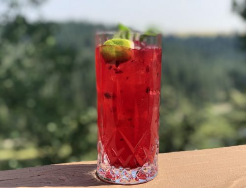 Huckleberry Mint Tequila Mojito