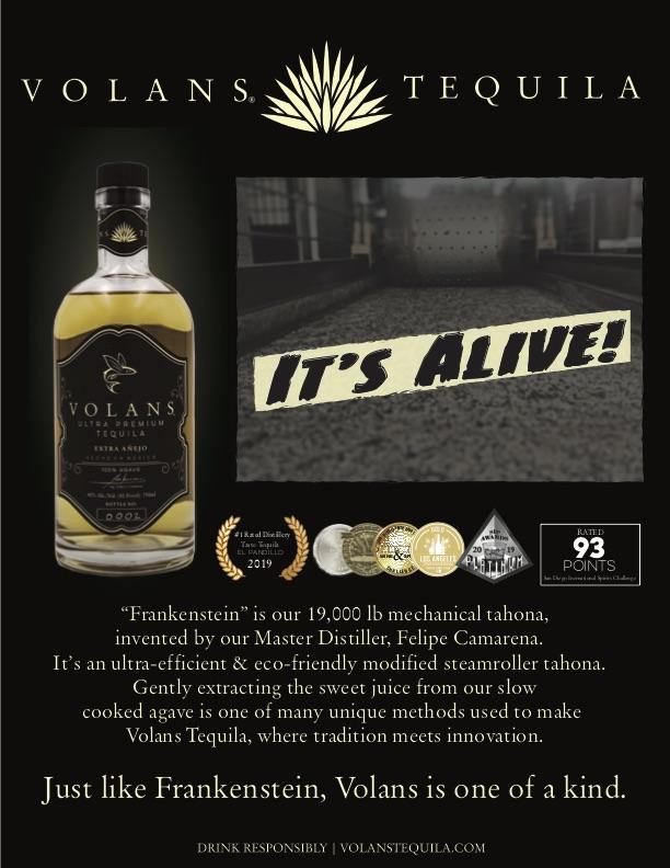 Volans Premium Tequila Camarena Frankenstein