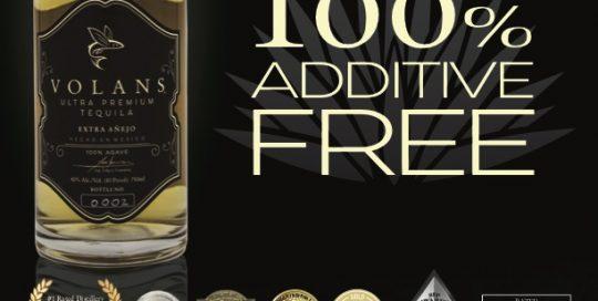 Additive Free Luxury Tequila