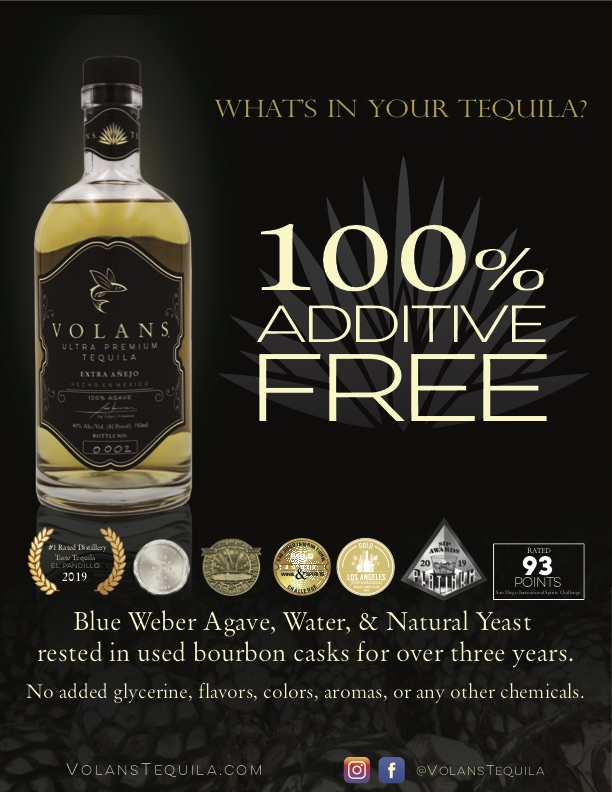 Additive Free Luxury Tequila