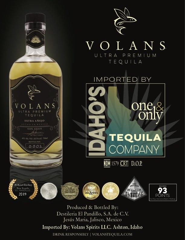 Idaho Premium Tequila Company - Volans Tequila