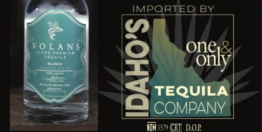 Volans Sell Sheet Blanco - Idaho Tequila Company