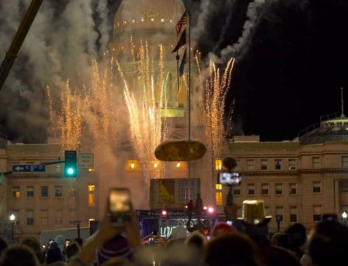 Volans Ultra Premium Tequila at the Idaho Potato Drop: New Years Eve Party in Boise, Idaho