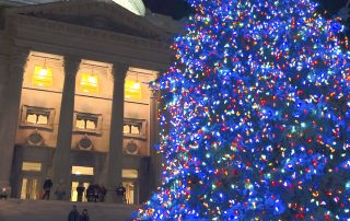 Idaho State Capitol on New Years Evening - Volans Tequila