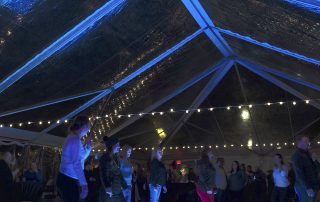 Dancing in the VIP Tent at the Idaho Potato Drop with Volans Tequila