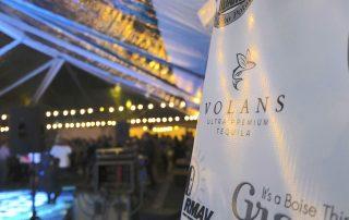 Volans Ultra Premium Tequila - VIP Tent at the Idaho Potato Drop